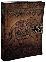 TUZECH Leather Writing Journal Notebook Classic Spiral Bound Notebook Re... - $15.68