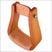Hilason Western Tack Wooden Horse Saddle Stirrups Straight With Leather U-2134 - $59.35