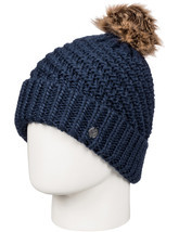 Roxy Blizzard Bobble Hat in Peacoat - $738,07 MXN