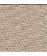 FABRIC CUT 32ct winter brew linen 9x27 for Autumn ABC's Little House - $13.50