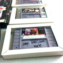 SNES Game Lot NFL Quarterback Club Monday Night Football Super Play Action Boxes image 7