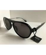New Polarized Dunhill SDH055 BLKP Black 54mm Men's Sunglasses #12 - $159.99