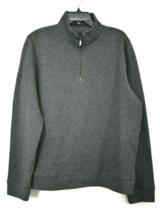 Toscano Mens Mock Neck Quarter Zip Sweatshirt Quilted Construction Impor... - $29.69