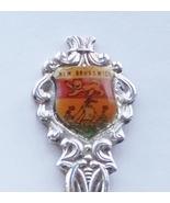 Collector Souvenir Spoon Canada New Brunswick Coat of Arms Flag Silver P... - $3.99