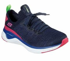 Skechers Navy Shoes Memory Foam Women's Sport Comfort Casual Train Slipo... - $56.99