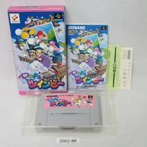 Nintendo Snes Pop'N Twinbee en Caja Laboral Sfc Juegos 2002-88 - $35.28