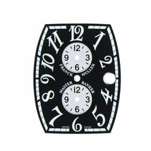 Franck Muller Master Banker 28 x 34 mm Black & Silver Dial for Men's Watch - $499.00