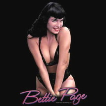 Bettie Page This Is A Bust, Cleavage Photo T-Shirt, NEW UNWORN - $14.50