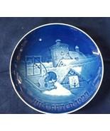 """1977 B&G Bing & Grondahl Christmas Plate """" Copenhagen Christmas """" - $15.00"""