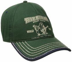 True Religion Men's Cotton Buddha World Tour Baseball Trucker Hat Cap TR1988 image 8