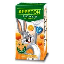 1 X Appeton A-Z Kid's Vitamin 30mg 100's - Orange Flavour Free Ship - $22.90
