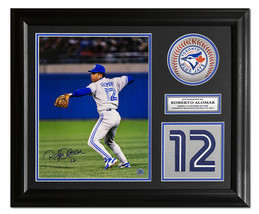Roberto Alomar Toronto Blue Jays Autographed Retired Jersey Number 23x19... - $195.00