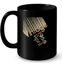 Vintage Retro Classic Born In April 1966 Gift 52 Years Old Gift Coffee Mug - $13.99+