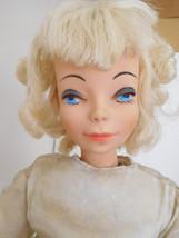 """Vintage 22"""" Sayco Fashion Lady Bed Doll w/ Platinum Blonde Hair & Origin... - $28.99"""