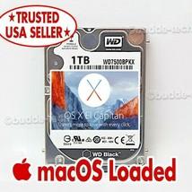Macbook Pro Hybrid Drive 1TB SSHD El Capitan 2009 2010 2011 A1278 A1286 ... - $108.60