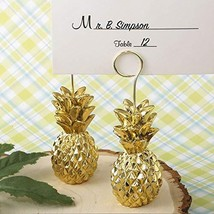 FavorOnline Warm Welcome Collection Gold Pineapple Themed Place Card Hol... - $233.12
