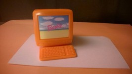 Barbie Orange Computer Monitor Keyboard PC Television TV Accessory - $6.25