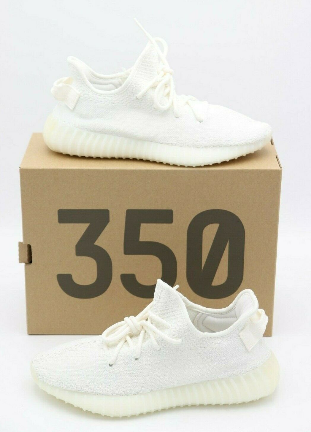 Neu in Box Adidas Yeezy Boost 350 V2 Triple Weiß Neu Größe 8