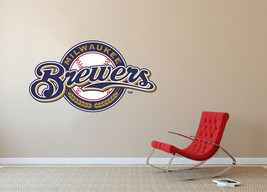 Milwaukee Brewers MLB Baseball Team Wall Decal Decor For Home Laptop Sports - $104.45