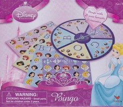Brand New Bingo Game Disney Princess Fast Shipp... - $6.79