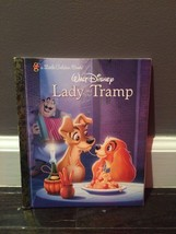 Disney's  Lady and the Tramp  Hardcover Little Golden Book - $4.94