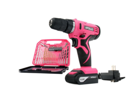 Tools 10.8-Volt Lithium-Ion 3/8 in. Cordless Drill with Accessory Set (3... - $101.89