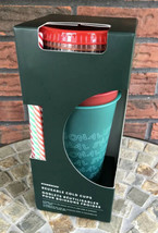 Starbucks 2019 Fall Holiday Christmas 5 pack Reusable Cold Cups Fun Stra... - $34.30