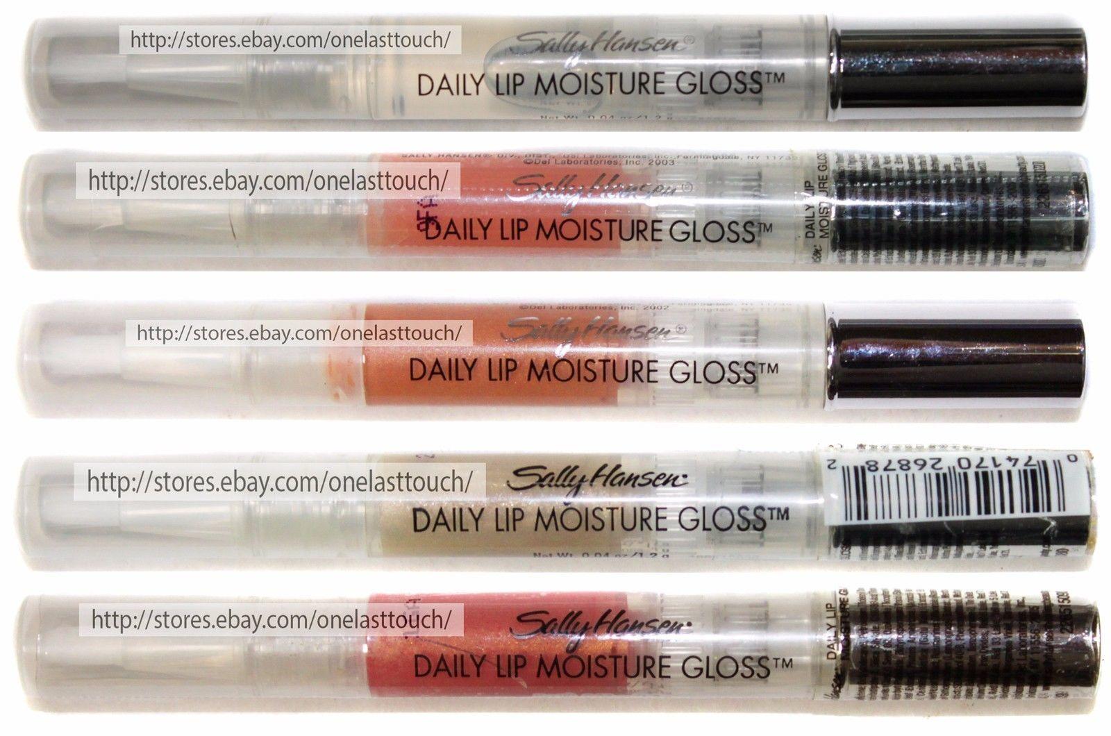 SALLY HANSEN* Lip Gloss DAILY MOISTURE Discontinued *YOU CHOOSE* Brush Tip 1b - $4.99
