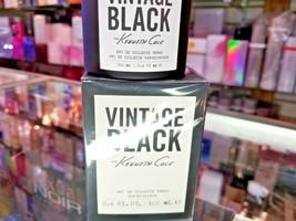 Vintage Black By Kenneth Cole For Men 3.4 Oz / 100 Ml Edt Spray New * Sealed Box - $54.99