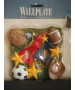 AlA1 All  Star Double  Toggle Sports Wallplate,  Light Switch Cover Hand... - $12.19