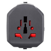 New International Multifunctional Plug Travel Charger Adapter Dual U - $48.00