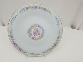 "Liling Fine China Dinner Plates Set of 4 Yung Shen White Roses Keepsake 10 5/8"" image 7"