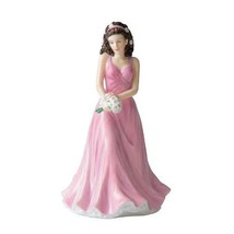 Royal Doulton Flower of the Month April Daisy Figurine HN5503  NEW IN TH... - $68.30