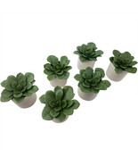 """Artificial Dudleya Succulent by Project 62 In White Pot 4.5"""" x 4""""- LOT O... - $14.99"""