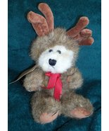 Boyds Bears Plush LIL MOOSELKINS Bear-Moose Master Of Disguise Collectib... - $35.00