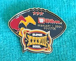 SUPER BOWL XXXVIII (38) PIN - NFL LAPEL PINS - MINT CONDITION - NE PATRI... - $5.89