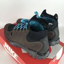 Nike Zoom Talaria Mid Flyknit Brown Gamma Blue Men's size 10 856957 200 NEW image 4
