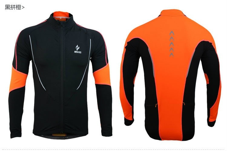 Warm autumn and winter models Cycling Jackets Sports Jerseys Men's Riding Breath image 7