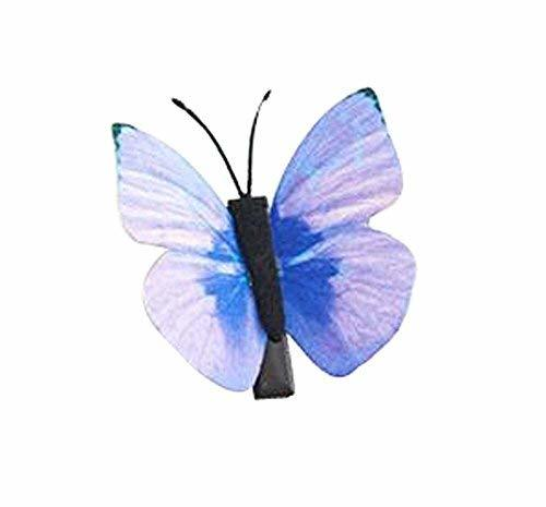 Set of 3 Butterfly Hair Pin Fashion Hair Clip Creative Hairpin,1.97'',Blue