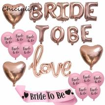 1set Bride to Be Theme Bachelorette Party Decoration - $25.99+