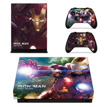 Iron Man tony stark xbox one X skin decal for console and 2 contro - $15.00