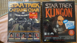 Star Trek Pc Games - Brand New Factory Sealed. Rare Collectors Items! 2 Titles ! - $79.99