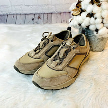 Easy Spirit Size 7M ESFELIDIA Women's Comfort Athletic Shoes Two Tone Taupe  - $28.57