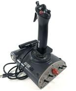 Saitek AV8R Joystick USB Connectivity Gaming Flight Simulator Controller - $48.33