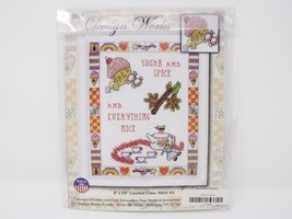Design Works Counted Cross Stitch Kit - Sugar & Spice... - $16.14
