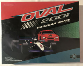 Oval 2001 Board Game / Race Car Game 2 To 9 Players - $14.24