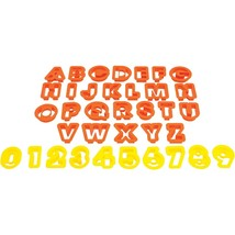 Starfrit The Cookie Cutters (numbers & Letters) SRFT080845 - $17.01