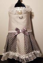 Polka Dot Dogie Dress light / dark gray - $21.95