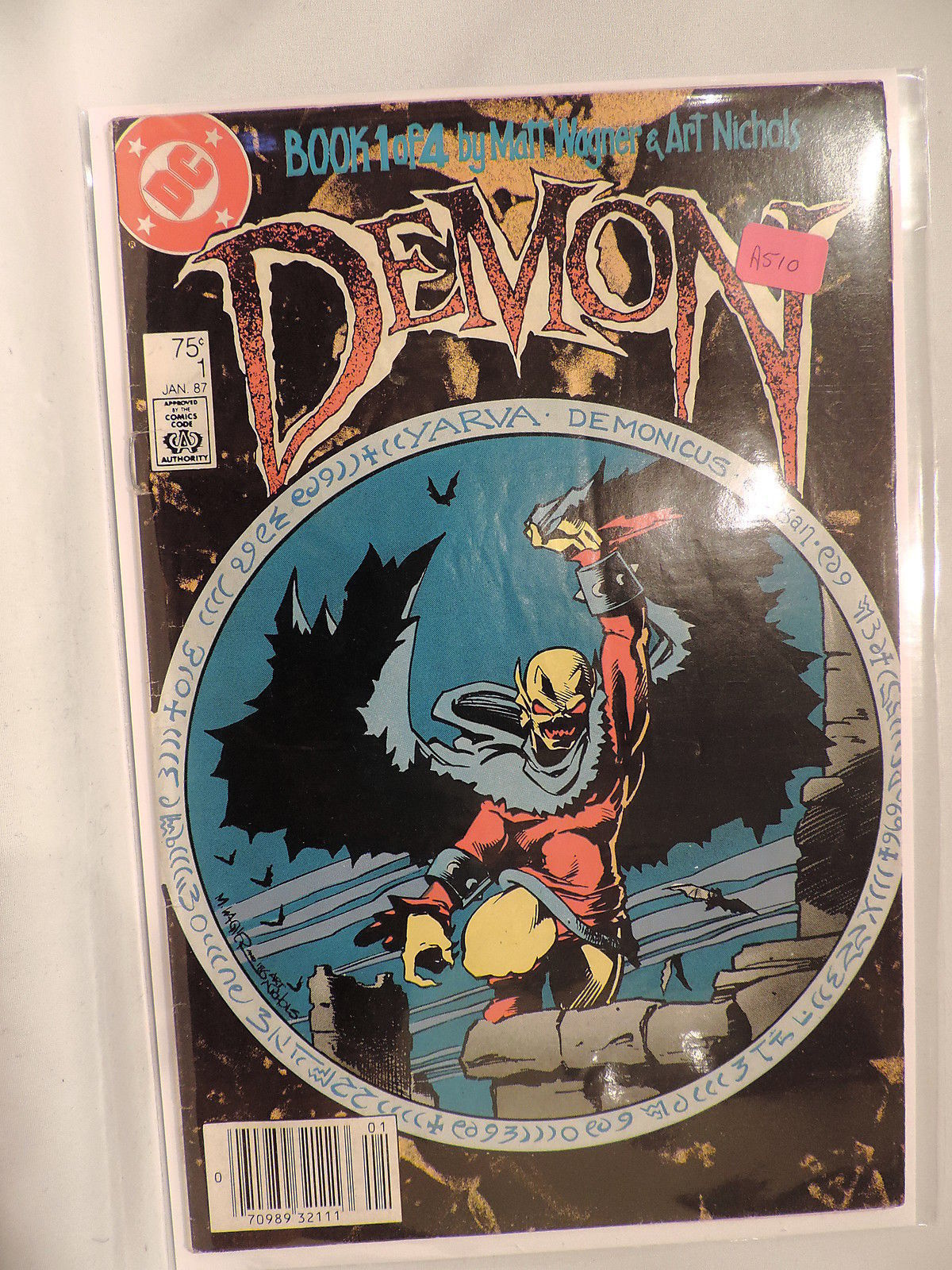 #1 The Demon 1987 DC Comics A510