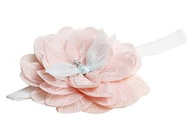 Exquisite And Lovely Lace Flower Hair Pins Baby Hair Band Kids Hair Clasp Pink image 2